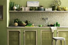 Go green in your kitchen