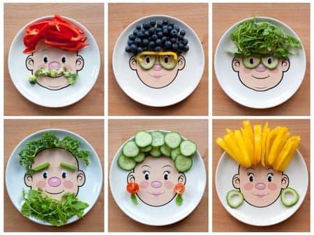 الغذاء الصحي والغير صحي لرياض الأطفال