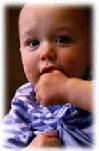 تطور الطفل ونموه المختلف Teething.jpg