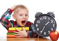 تنظيم وقت الطفل