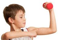 اللياقة والصحة البدنية لطفلك