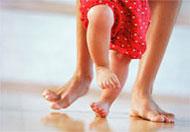 بداية ممارسة الطفل للحركة